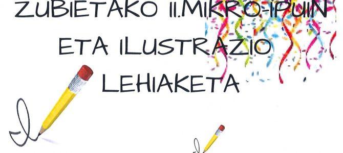 Concurso de microrelatos y dibujos.